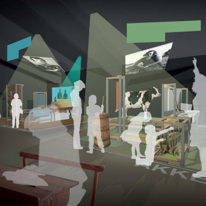 Visualisatie van het Huis van Weldadigheid