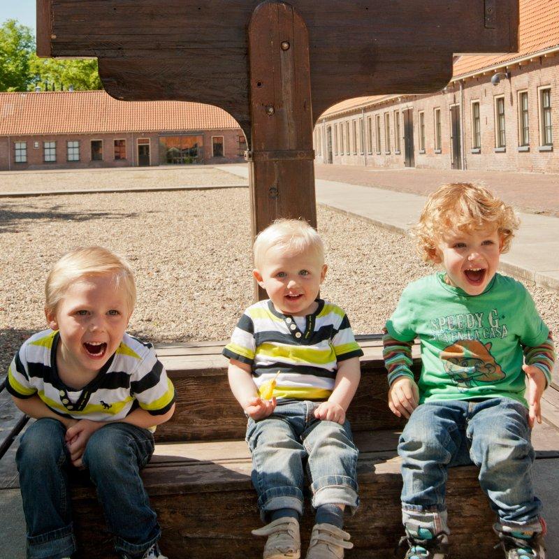 Veenhuizen;Nederland;gevangenismuseum;kinderen