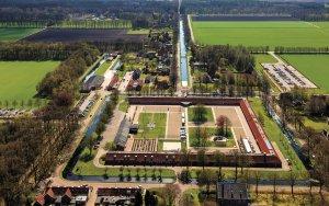 Luchtfoto Tweede Gesticht in Veenhuizen (c) Siebe Swart, 2013
